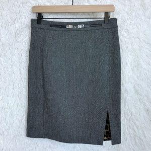 Express   Gray Pencil Skirt Career 8